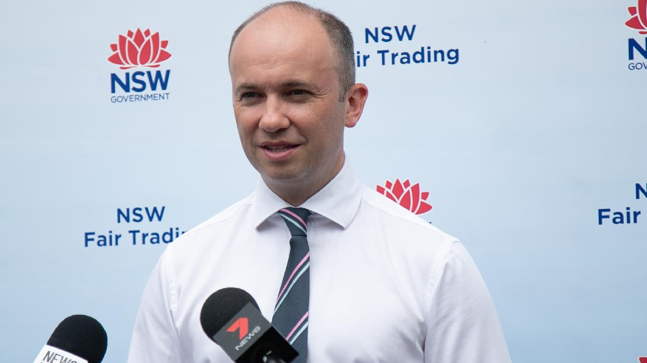 Matt Kean said you need to read the small print on your contract very carefully. Picture: Fair Trading