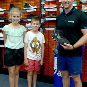 Kate and Jack Greany and Daniel Stevens at Intersport December ...  4acb2768121c9