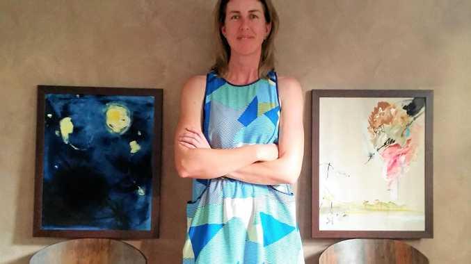 PAINT: Artist Nicole Harper will exhibit her work this month.