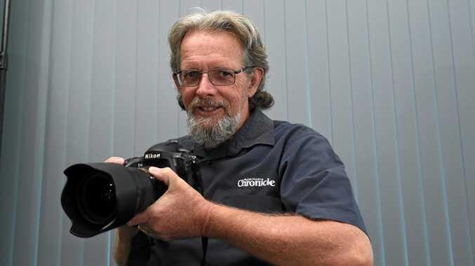 THROUGH A PHOTOGRAPHER'S EYES: The Fraser Coast Chronicle's chief photographer Alistair Brightman.