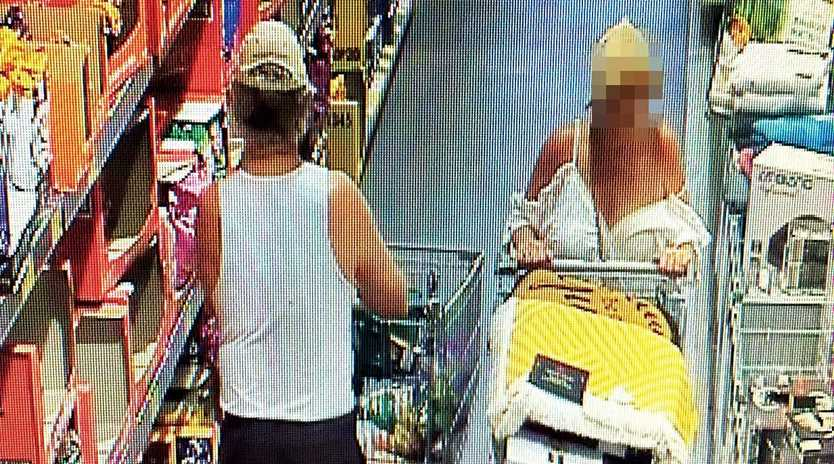 CHARGES LAID: A woman (right) has been charged with stealing four Dyson vacuum cleaners from Aldi.