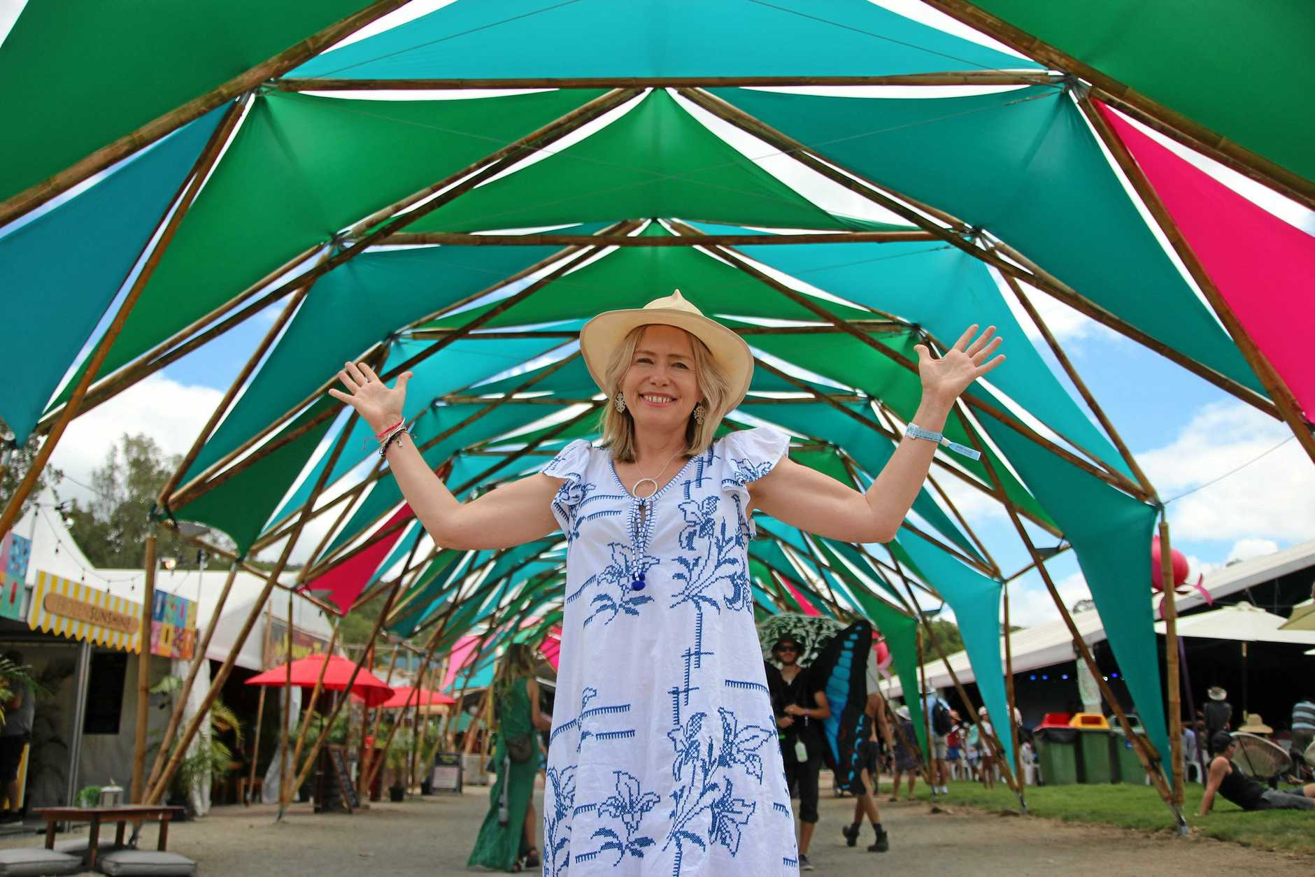 Woodford Folk Festival general manager Amanda Jackes was gearing up for the best festival yet.