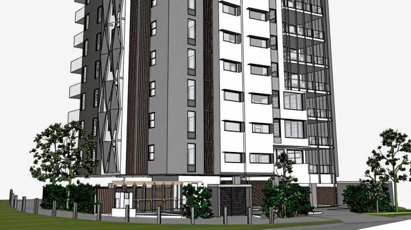 PLANS: The proposed unit block for Naroo Court, Mooloolaba.