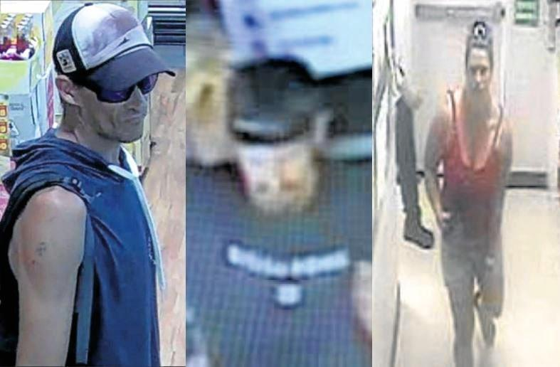 DO YOU KNOW THEM? Police wish to speak with these three people.