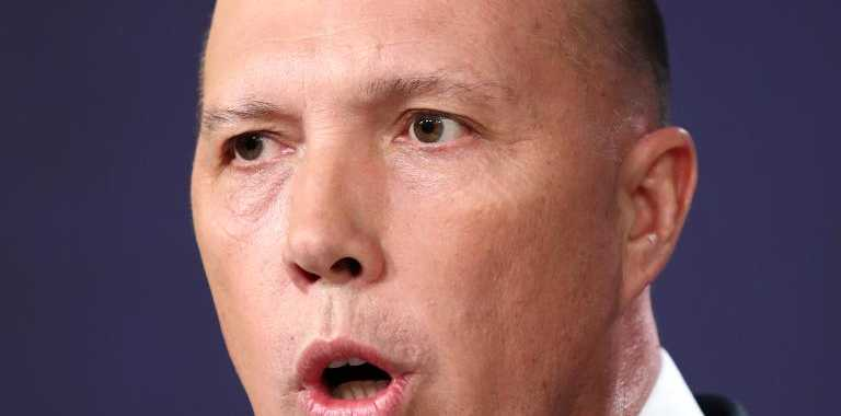 Home Affairs Peter Dutton is also at risk. Picture: Cameron Spencer/Getty Images