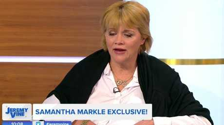 Samantha Markle has also spoken out about tensions with her half-sister. Picture: Channel 5