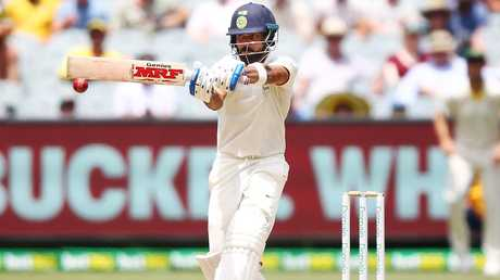 Virat Kohli of India bats during day two
