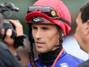 Fears leading jockey could be left a quadriplegic