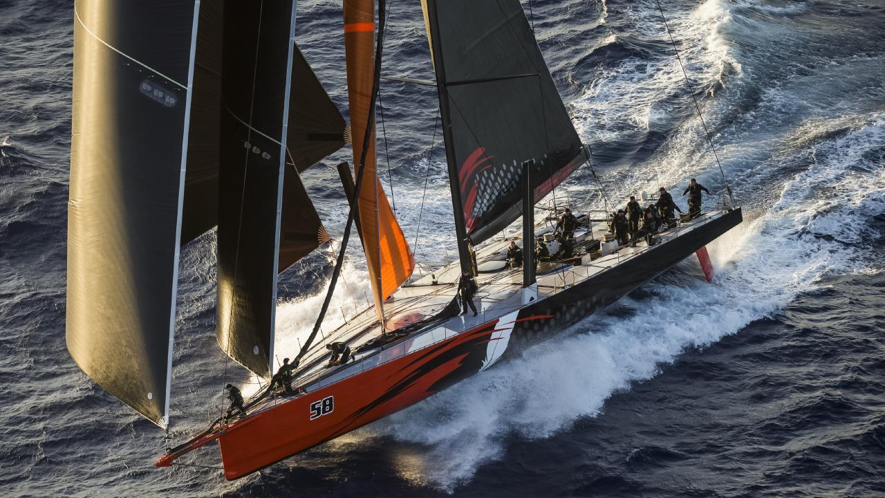 Comache continues her journey south. Picture: ROLEX/CARLO BORLENGHI