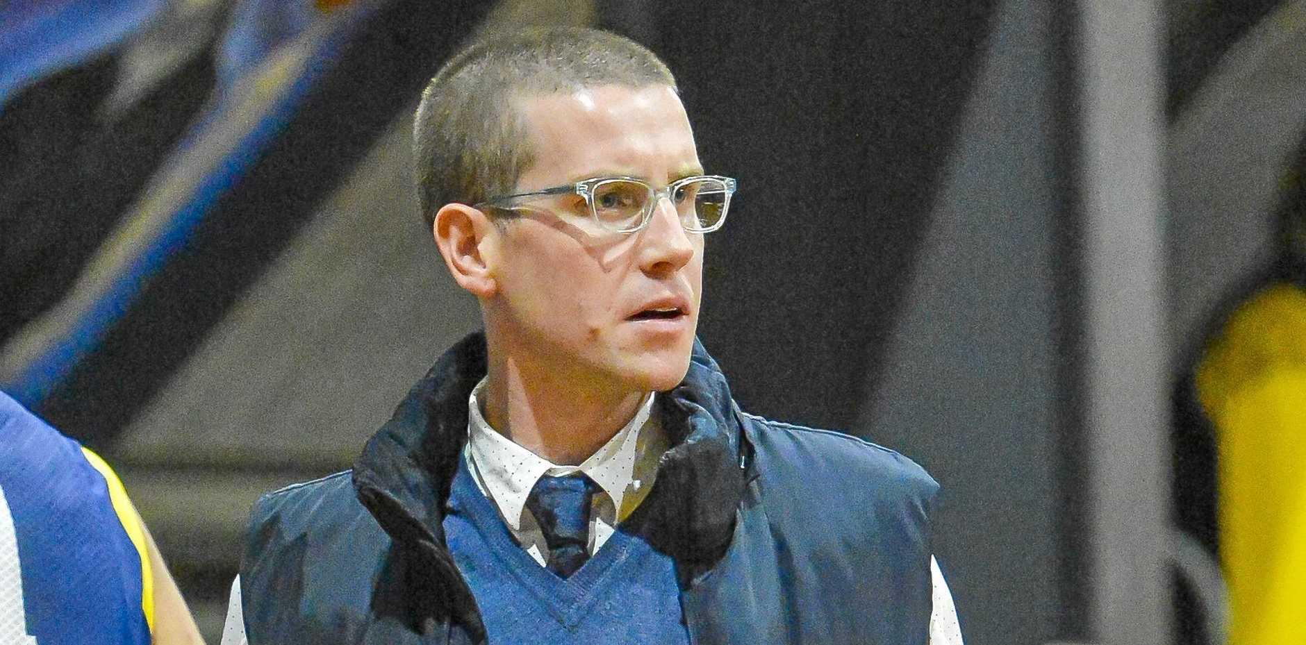 Gladstone Port City Power men's coach Brady Walmsley.