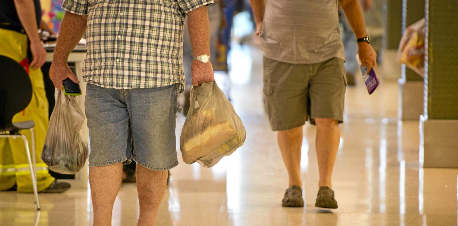About 20,000 shoppers visited Caneland Central on Boxing Day, but it was a different story in Mackay city centre.
