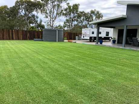 LAWN PORN: Brodie Hansen uploaded this image of a yard he maintains.