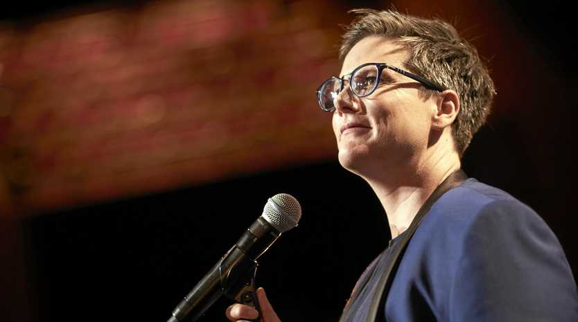 OSCARS BOUND?: Hannah Gadsby is a hot favourite to host the Academy Awards thanks to the global success of her Netflix comedy special Nanette.