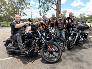 Harleys roar into action to make a dying wish come true