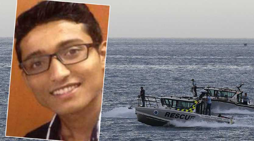 Nischal Ghimire went missing after a trip to the beach at Glenelg. Search boats this morning started looking for any trace of the missing 22-year-old.
