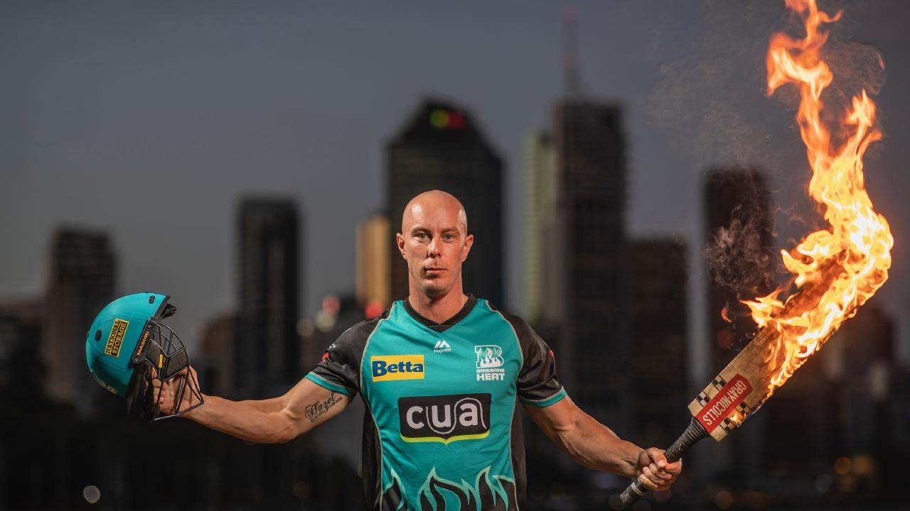 Chris Lynn is urging the Heat to go on the attack. Picture: Peter Wallis