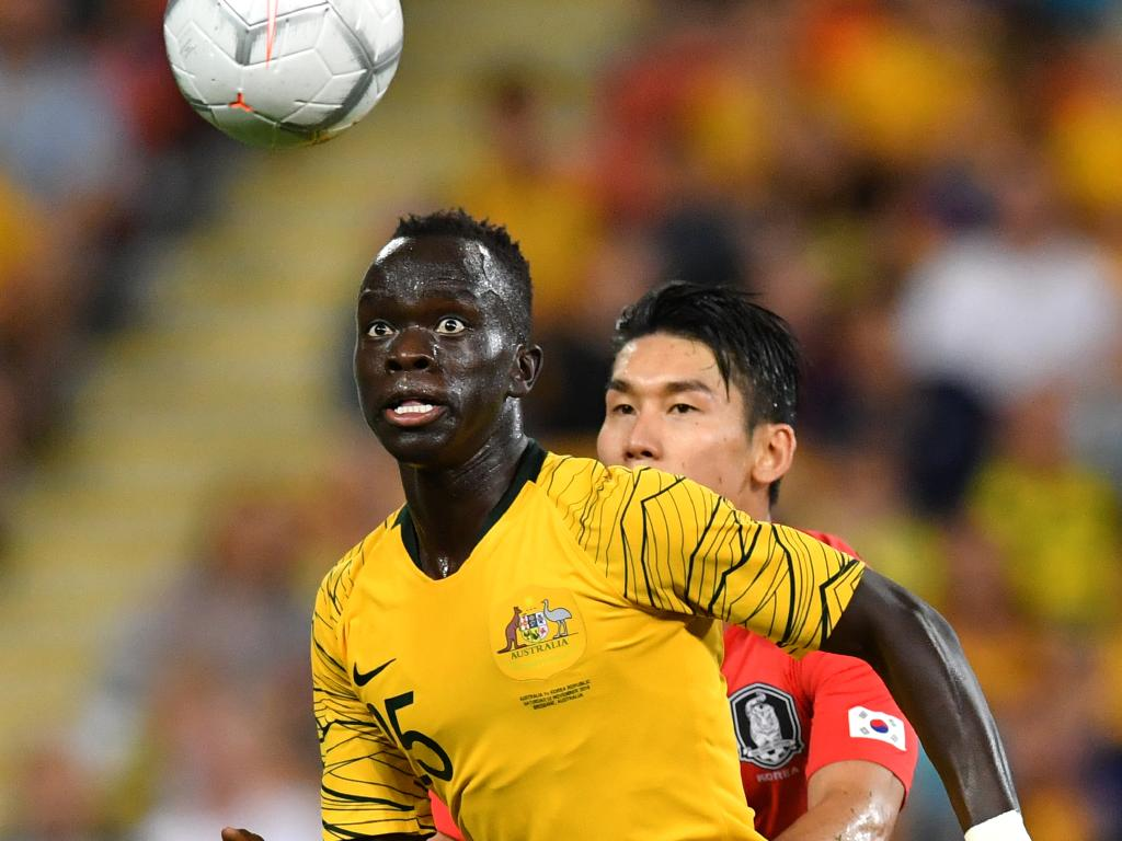 Awer Mabil reveals touching meaning behind goal celebration