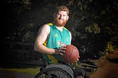 Steven Elliott selected in the Australian Rollers basketball team.