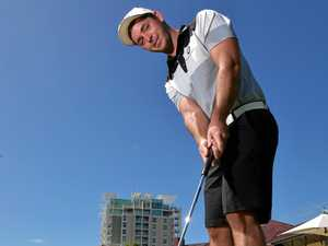 Why Gympie golfer Charlie Dann hopes to get on TV