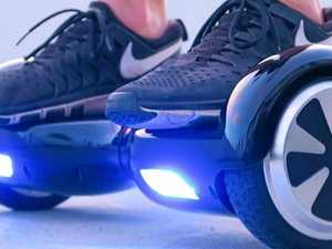 Hoverboard 'explosion' sparks emergency response