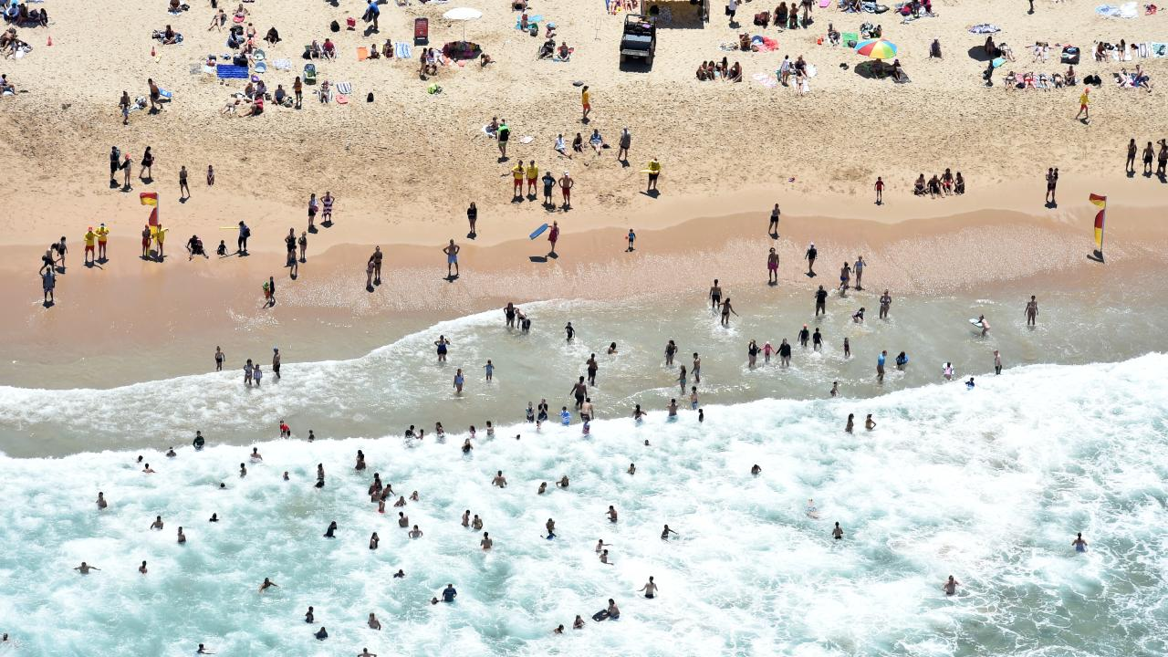The alleged incident occurred at North Cronulla Beach yesterday afternoon. Picture: AAP Image/Mick Tsikas