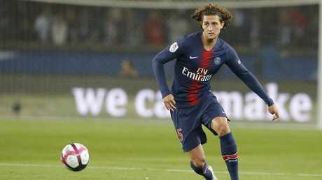 Rabiot has barely featured for PSG this season. Picture: AP