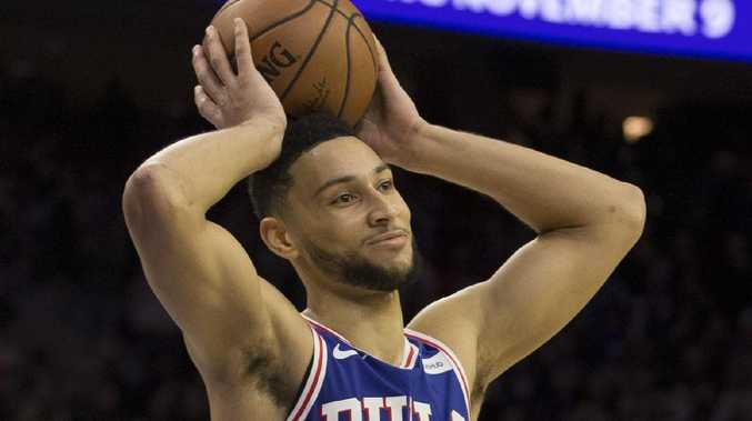 Ben Simmons is the centre of trade speculation. Picture: Mitchell Leff/Getty Images