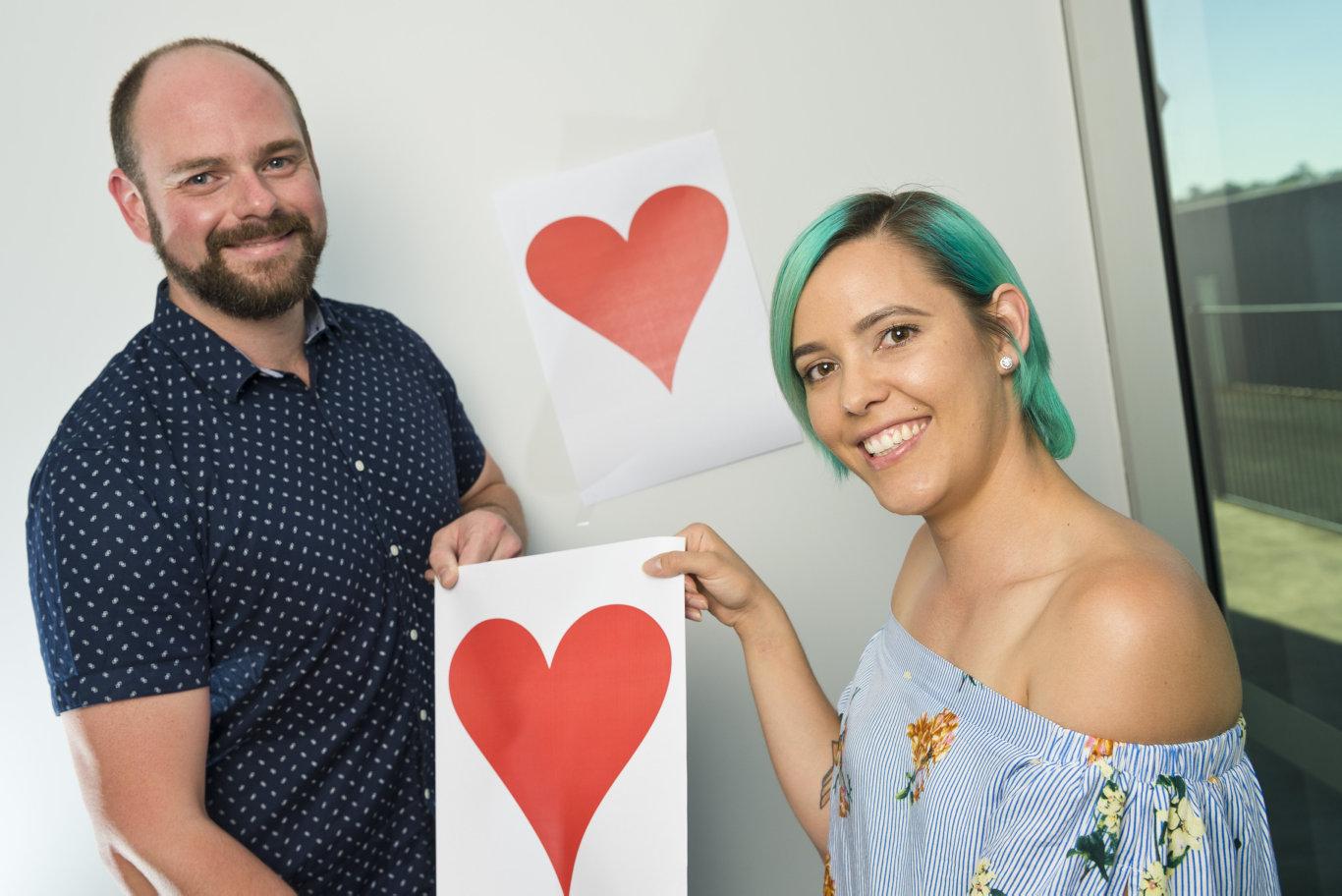 Tim Swinson and Aleisha Cowan won The Chronicle's inaugural Bachelor and Bachelorette-inspired match-making initiative.