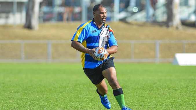 Frank Waikato for Gladstone Goats.