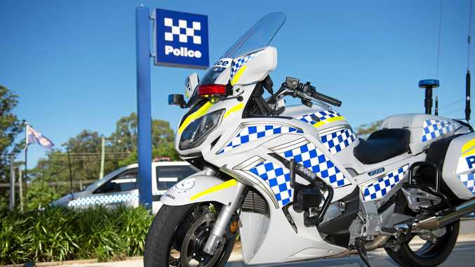 A police officer was struck by vehicle on the Pacific Highway this morning.