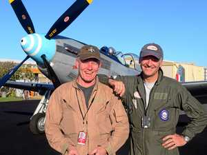 Mustang pilot farewelled after ongoing battle with illness