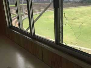 Toowoomba football clubhouse hit by vandals