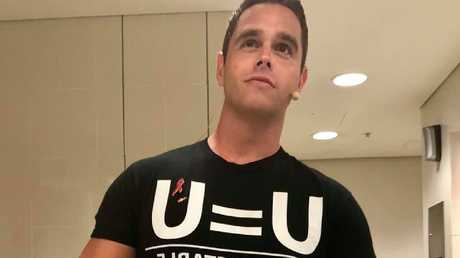 """Karl Schmid has become a face of the U = U campaign. """"Title ="""" Karl Schmid has become a face of the U = U campaign. """"Data-bigimg ="""" https://media.apnarm.net.au/media/imagev104fb4d4e2af20a9eebf3290c66d7f373-9vypzmwjhkdjx8kpjr2_ct677x380.jpg""""/><figcaption><p> <span>Karl SchmidtEndLink is a face of the U = U campaign. [19659029] DRINKING THROUGH MY FACE </strong><br /> Schmid said that since he made his announcement he did not have a negative feedback professionally and appeared as usual on American TV screens as before.</p><p> In his private life he has long been open to his status. And this is the reaction of the air that is most concerned, often of other gay men.</p><p> """"I threw drinks in my face, I said I'm dangerous, I even burst someone into tears.""""</p><p> He decided to tell a potential partner, was a minefield. He will have to wait a few times a few times until it becomes clear that it has become serious. But then he is chastened because he did not have HIV at the beginning of the first date.</p><p> He said if sex was on the cards, it was every partner's responsibility to ask questions.</p><div data-overlay-marker="""