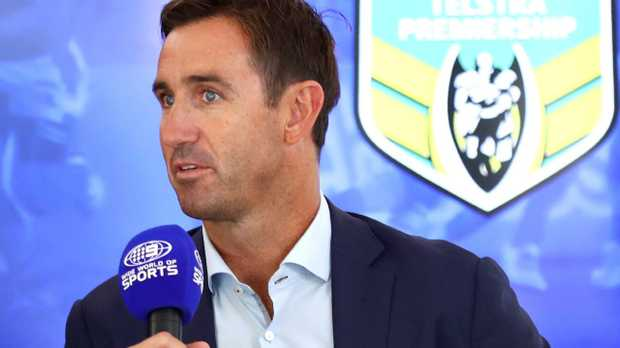 Andrew Johns is being treated for seizures.