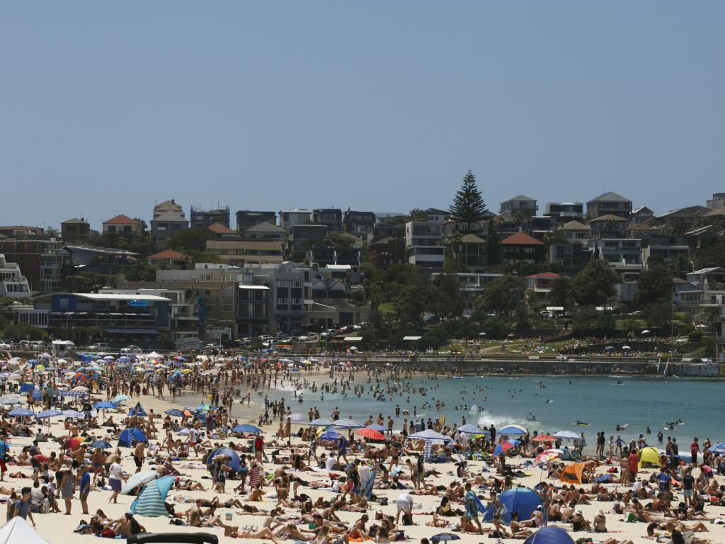 It's likely Bondi Beach will be this packed on New Year's Day. Picture: Tim Pascoe