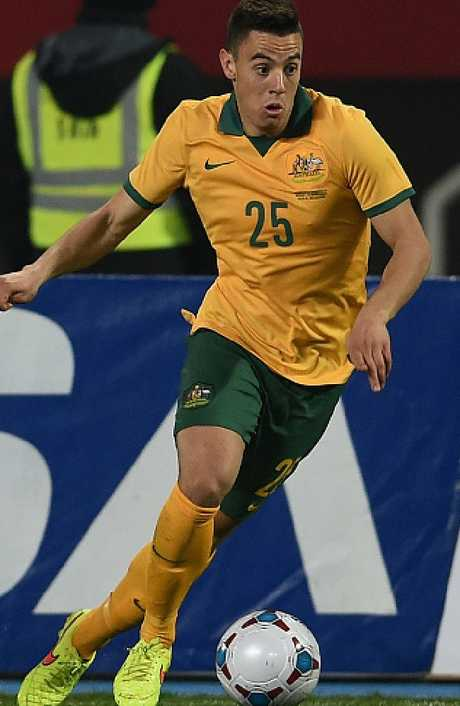 Chris Ikonomidis has seven  Socceroos caps to his name and will win many more.