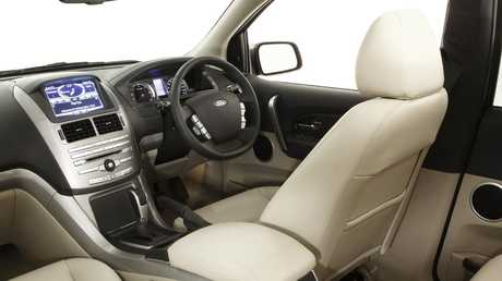 The Titaniusm model gained leather and a premium audio system. Picture: Supplied.