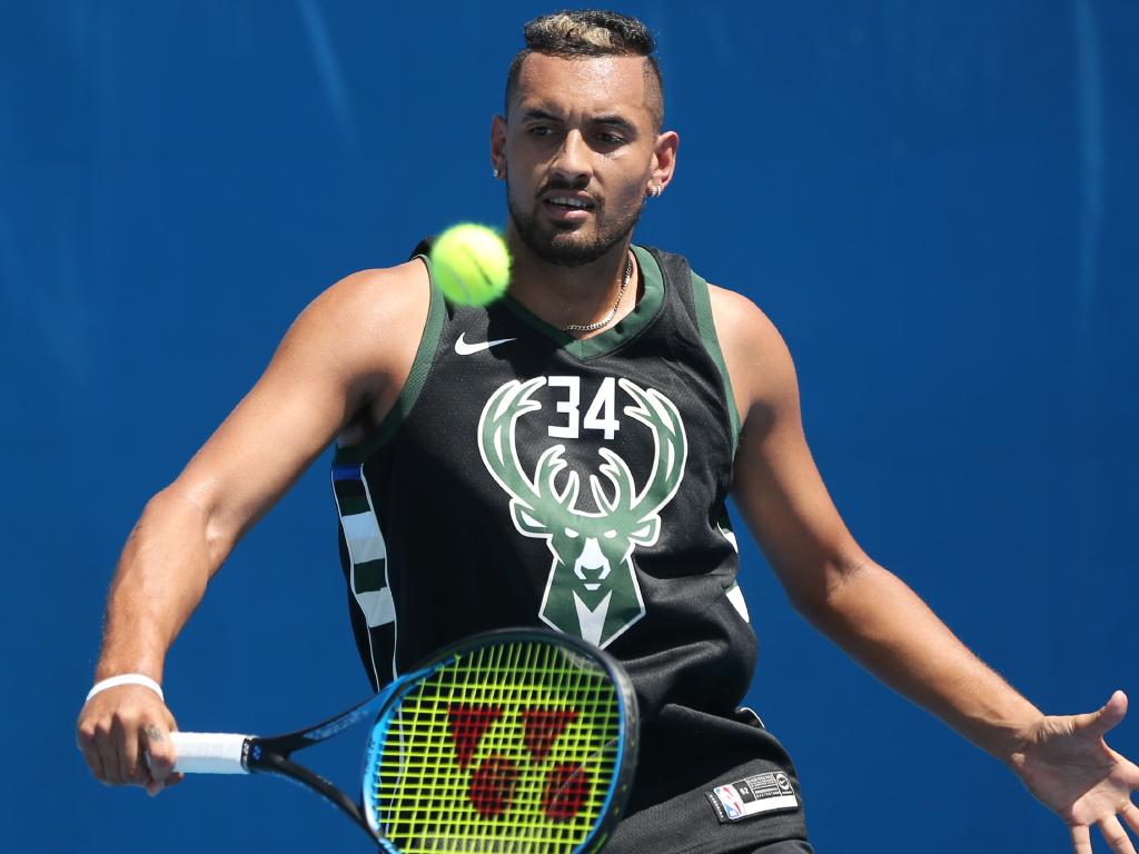 Nick Kyrgios is expecting a slow start to 2019.