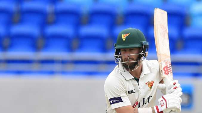 Matthew Wade has been scoring plenty of runs in the Sheffield Shield competition.