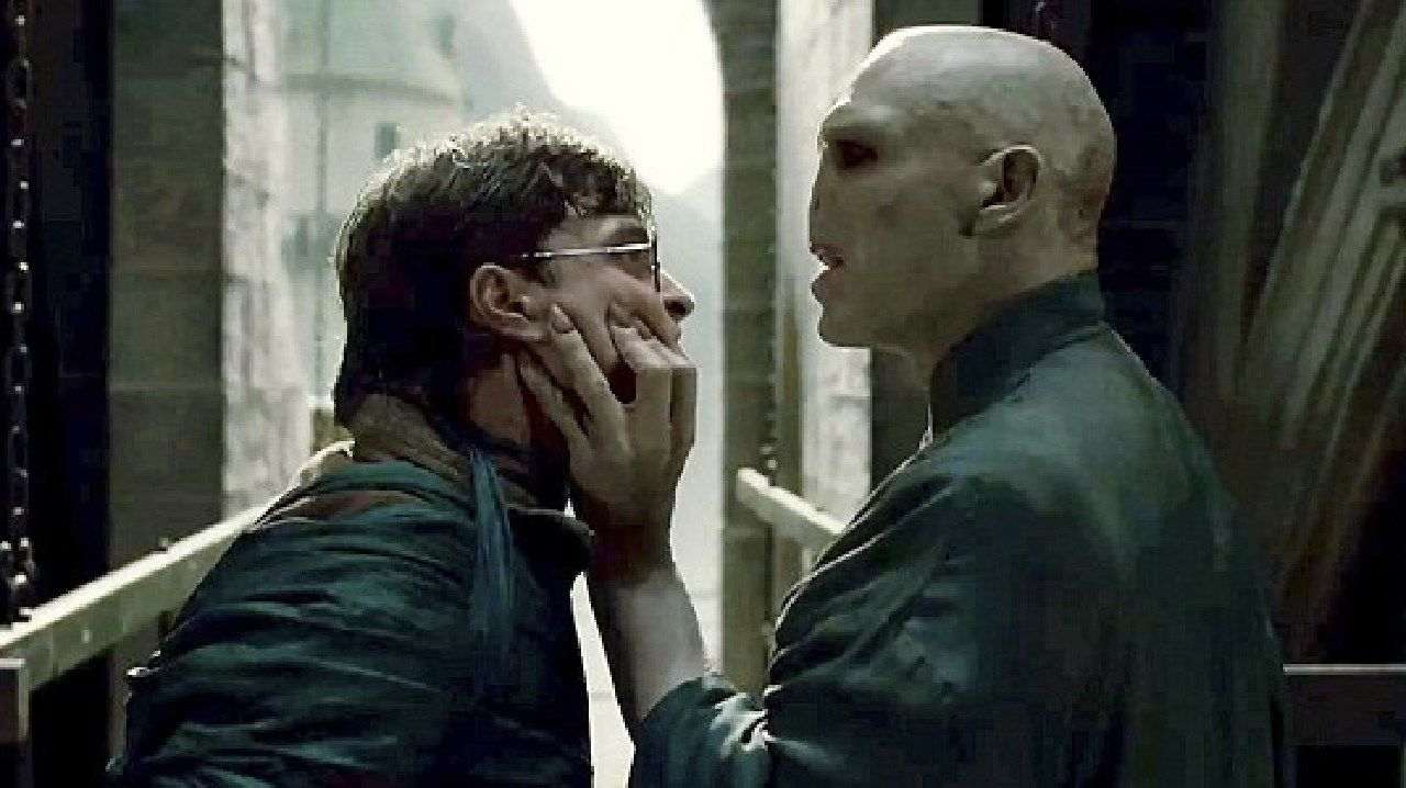 Daniel Radcliffe and Ralph Fiennes face off in Harry Potter and the Deathly Hallows Part 2. Picture: Reuters/Warner Bros