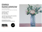 The Interior Series Emma Nancarrow Solo Exhibition Art for your home, your space, your santuary Opening event Jan 18, 6pm Exhibition 18th - 26th February
