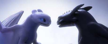 A scene from the movie How To Train Your Dragon: The Hidden World. Supplied by Universal Pictures.