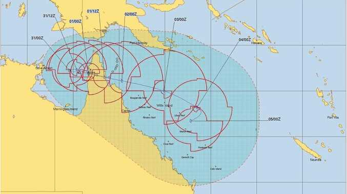 Tropical low could surge to category 2 cyclone on New Year's Day
