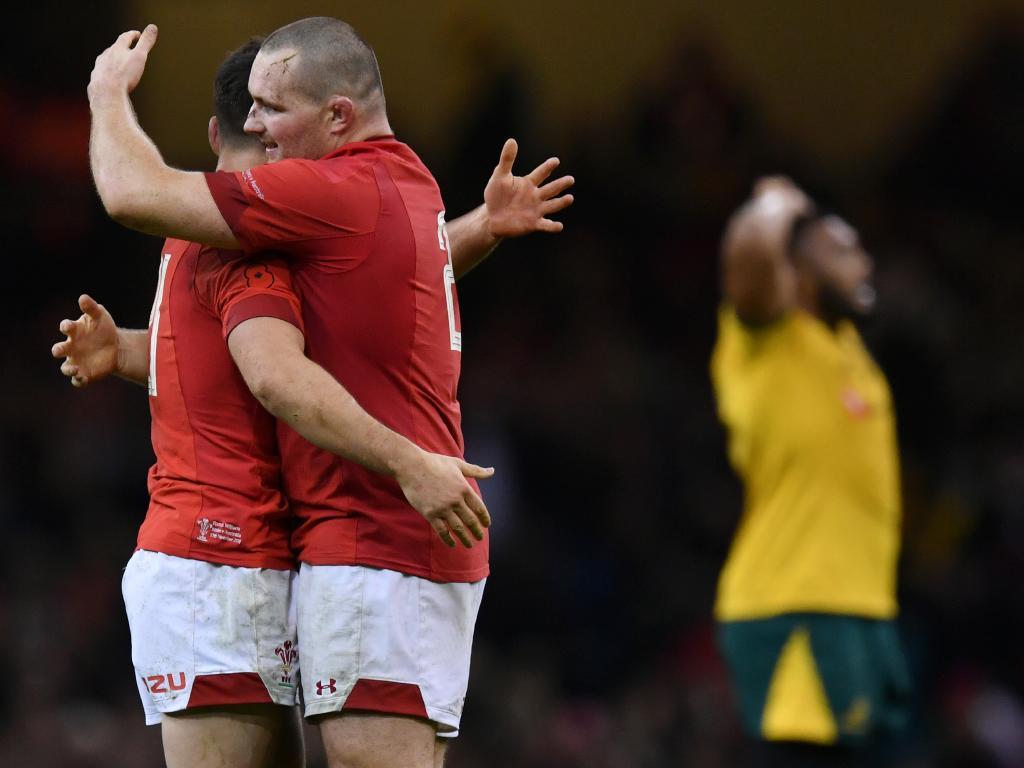 The Wallabies endured a year from hell, including a defeat to Wales (Photo by Dan Mullan/Getty Images)