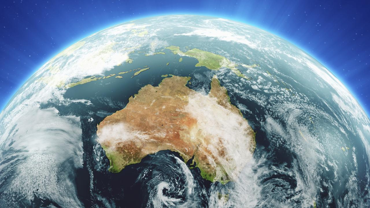 Goodbye Australia. In less than a century, Dr Kaku predicts we will all be part of one large planetary civilisation.