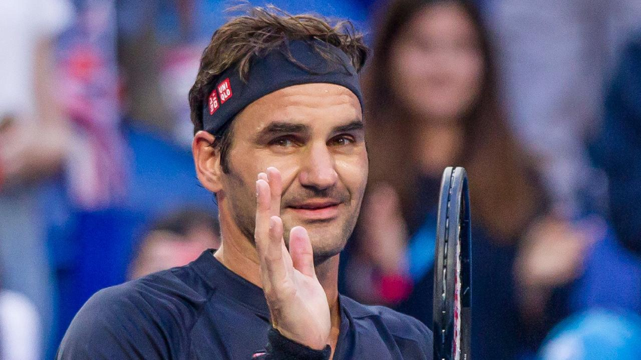 Roger Federer crushed Cameron Norrie. (Photo by TONY ASHBY / AFP)