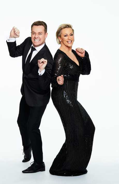 Grant Denyer and Amanda Keller will host Channel 10's Dancing With The Stars