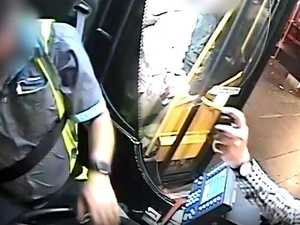 Alleged bus mouth spray attacker charged