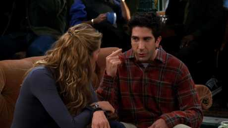 Ross in Friends: Not just a pretty face.
