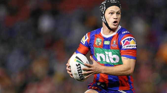 Kalyn Ponga is hurting after the death of a close cousin. Picture: Brendon Thorne/AAP